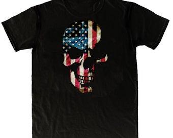 Skull Americana T Shirt