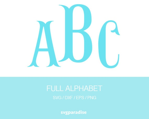 Fishhook Alphabet Svg Fishtail Font Alphabet Svg Eps Dxf
