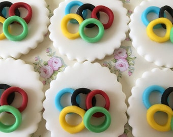 Olympics #2 Cupcake and Cake Toppers