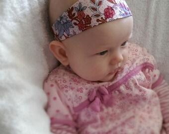 Reversible Baby Girls Headband