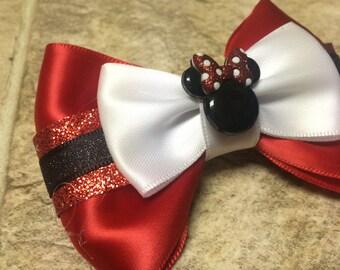 Sparkle Minnie Hair Bow