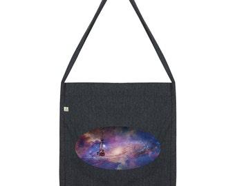 Ship Galaxy Tote Bag