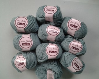 "Louisa harding ""Kashmir Aran"" luxury merino wool, cashmere blend in #23 shade of aqua"