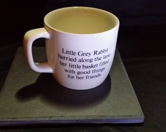 Vintage mug based on the 1930's character 'Little Grey Rabbit'.