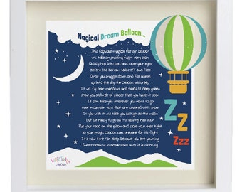 Dream Balloon Poem