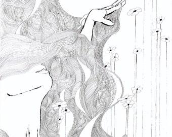 "Spring Awakening Giclee Print, limited edition 8x10"""
