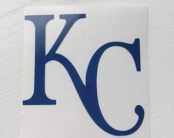 Kansas City Royals KC decal