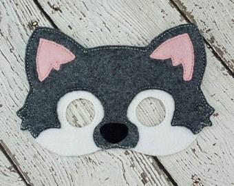 BIRTHDAY SALE Wolf Mask
