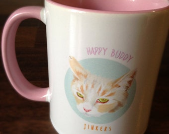 Customized Mug (with your pet's portrait)