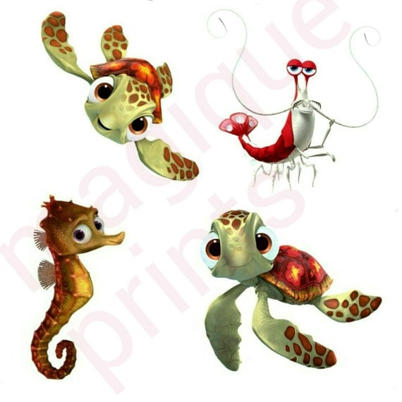 Finding Nemo Stickers Finding Nemo Clipart Cartoon