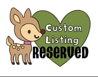 CUSTOM woodland creatures