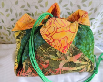 Tropical Forest Mini Origami Bag