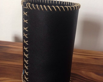 Leather Beer Can Cozy