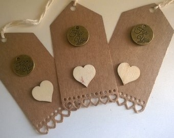 For you rustic Kraft gift tags