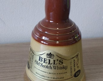 Bells Whiskey Ceramic Bottle