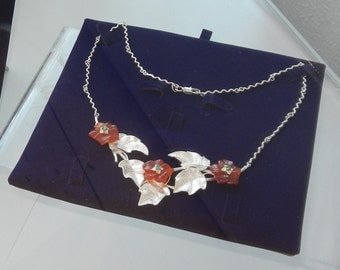 SALE! Necklace with carnelian