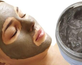 Deep cleansing honey mud mask