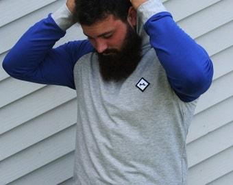 Raglan t-shirt for men