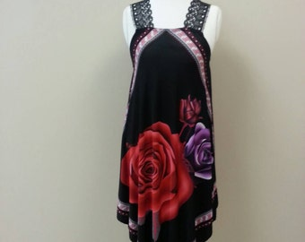 Handkerchief Scarf Dress