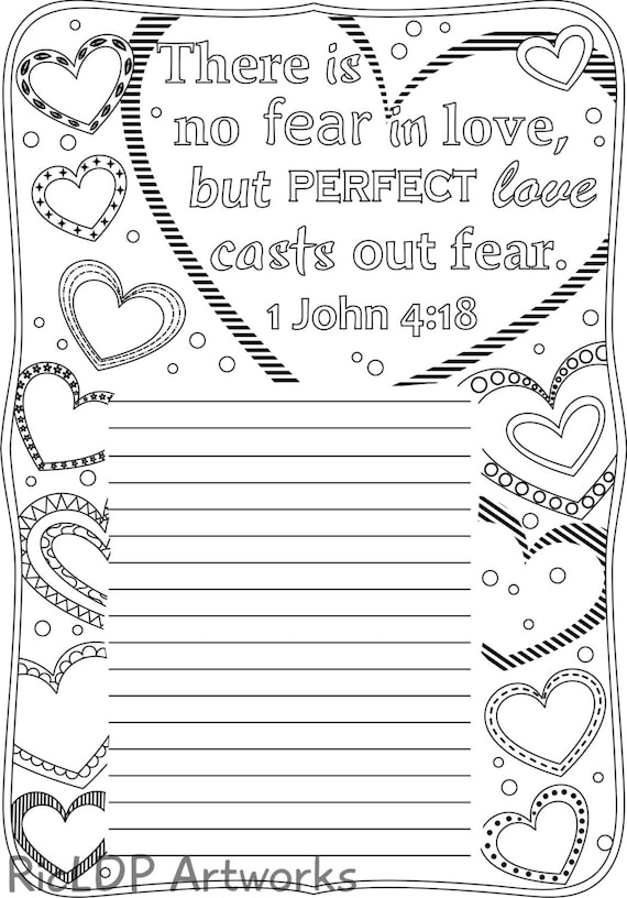 Five bible verse coloring journals for grown ups printable for Bible journaling coloring pages