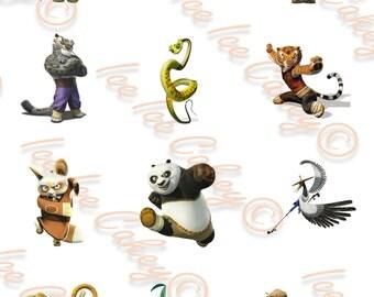Kung Fu Panda Cupcake Toppers
