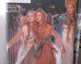 Pattern SIMPLICITY 9454 costume fairy for woman