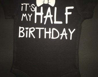 Baby boy baby girl half birthday 6 months