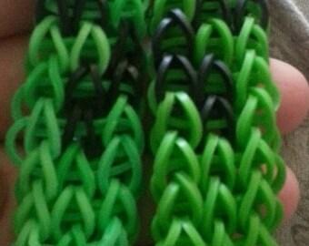 Minecraft Creeper Bracelet set