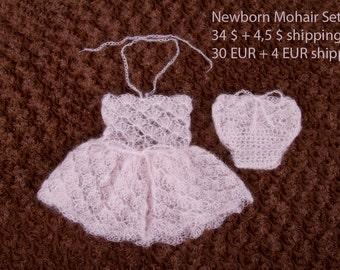 Newborn Mohair Set - Photo Prop