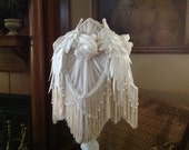 Victorian Lampshade Shabby Cottage Chic Lampshade Romantic Lampshade