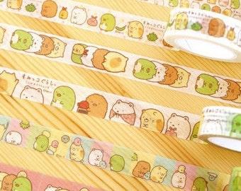 Cute kawaii kitsch washi sticky masking deco tape Sumikko Gurashi