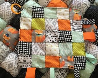 Matching tag blanket!