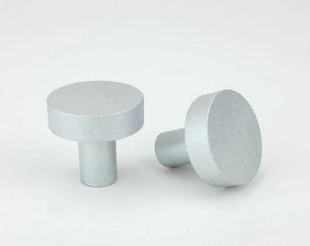 Marcel Knob - Solid Aluminum Cabinet Knob /  Drawer Pull