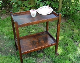Edwardian Tea Trolley