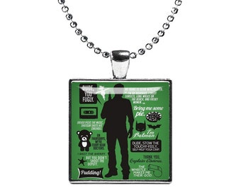 Dean Winchester Supernatural Necklace Pendant Jensen Ackles Fandom Jewelry Cosplay Fangirl Fanboy