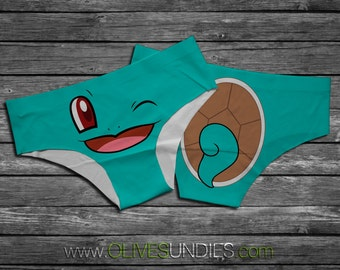 Squirtle Pokemon Underwear