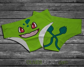 Bulbasaur Pokemon Panties