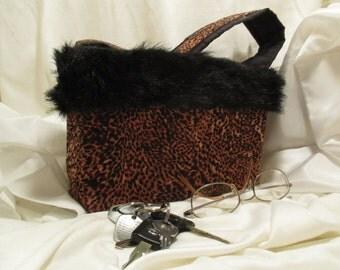 Small Cheetah Purse