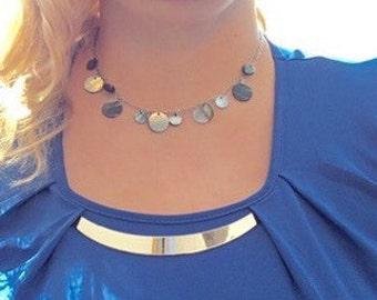 Sea Shell Necklace, Seashell Necklace, Beach Jewelry, Mini Sea Shell Necklace