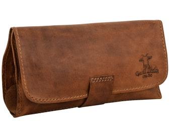 Gusti leather ' ian ' Pipe bag tobacco bag Drehertasche