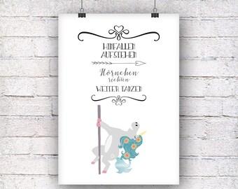Unicorn Horn set art print gift family art print, fine art print