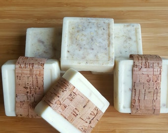 Maple Brown Sugar Oatmeal Soap Squares