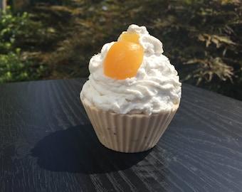 Vanilla & Poppy Seed Cupcake Soap