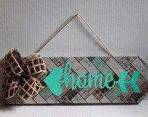 Decorative wood sign - Faux Finish - wood decor- wood wall art - custom wood signs - wall art - hand crafted - shabby chic -  home decor