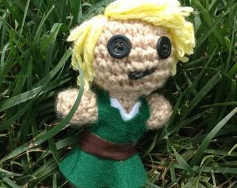Legend of Zelda: Crochet link doll