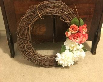 "15"" summer wreath"
