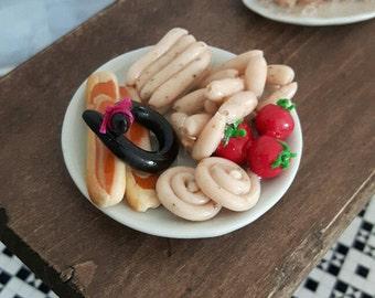 Fresh meat platter