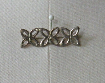 Vintage 1970's STERLING Celtic Design Brooch/Pin