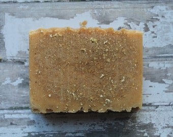 Handcrafted Goat milk, Honey and Oatmeal Soap