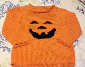 Handknit Child Sweater